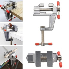Yika New 3.5 Aluminum Mini Small Jewelers Hobby Clamp On Table Bench Vise Tool Vice