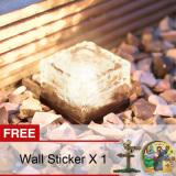 Buy Yika Solar Led Waterproof Garden Light Warm White Buy 1 Get Freebie