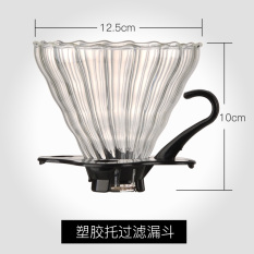 Price You Laifu Hand Punch Coffee Filter Cup V60 Funnel 102 Glass Drip Filter Cup Clever Cup Filter Is Large Oem New