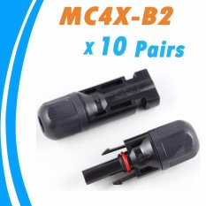 Sale Ysmart10Pcs Male And Female Mc4 Solar Panel Connector Used For Solar Cable Suitable Cable Cross Sections 2 5Mm2 6 0Mm2 Intl Y Solar On China