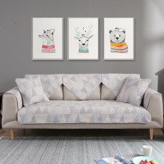Yu Duo cotton sofa cushion slip four seasons sofa cover