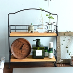 Price Comparisons Of Zakka Grocery G*Rl S Desktop Makeup Products Storage Rack Partition