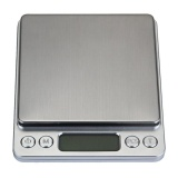 Review Zeawhc 3000G 1G Digital Pocket Stainless Jewelry Kitchen Food Scale Lab Weight Silver Intl Louis Will