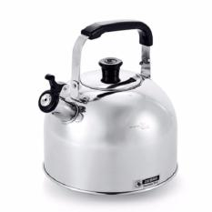 Review Zebra Stainless Steel Smart Whistle Kettle 3 5L Silver Zebra On Singapore
