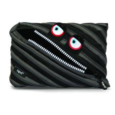Sale Zipit Monster Jumbo Pouch Wildings Pink Black Blue Durable One Long Zipper Practical Pencilcase Online On Singapore