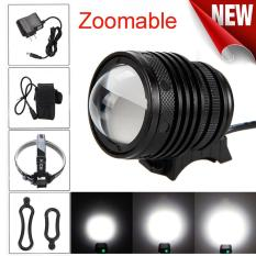Where Can I Buy Zoomable T6 Led 5000 Lm Bicycle Bike Head Light Headlamp Rechargeable Head Intl