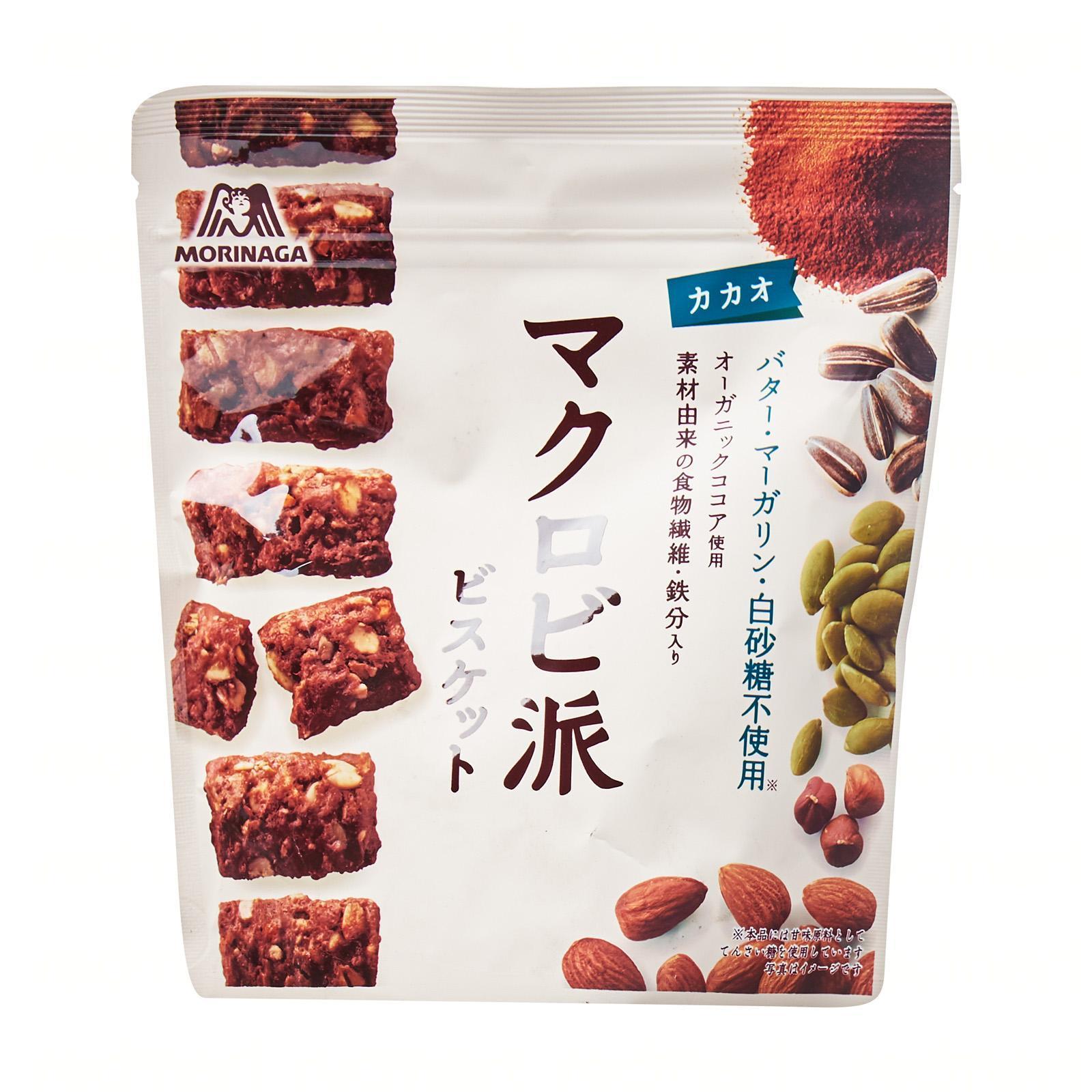 Morinaga Macrobiotic Cocoa Biscuits - Jetro Special