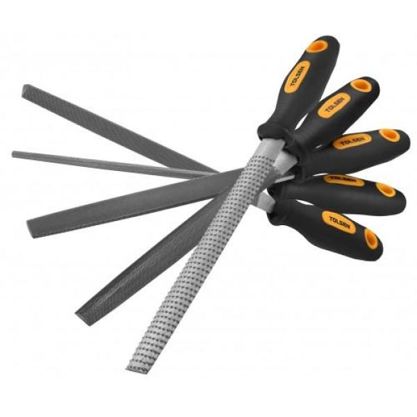 Tolsen Tools , 5 pcs file set 200mm