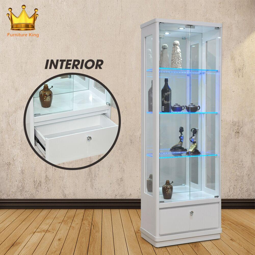 Marcus Display Cabinet / Decoration Cabinet / Glass Cabinet/ Wine Cabinet/ Glass shelving