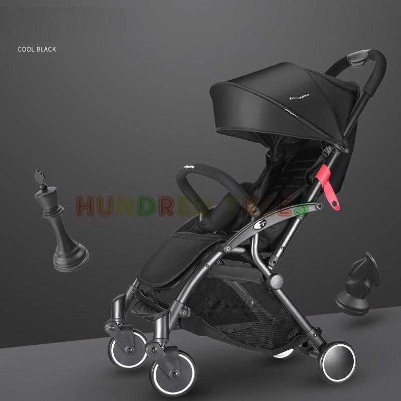 2018 KIDDOPOTAMUS BABY STROLLER ★Baby Cabin Travel Stroller Easy for Travel Foldable Pram Singapore