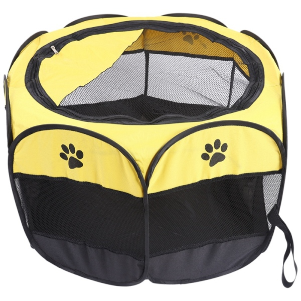 Dog Cage Pet Tent Waterproof Cat Dog House Playpen Outdoor Cat Dog Kennel Octagon Fence Pet Supplies