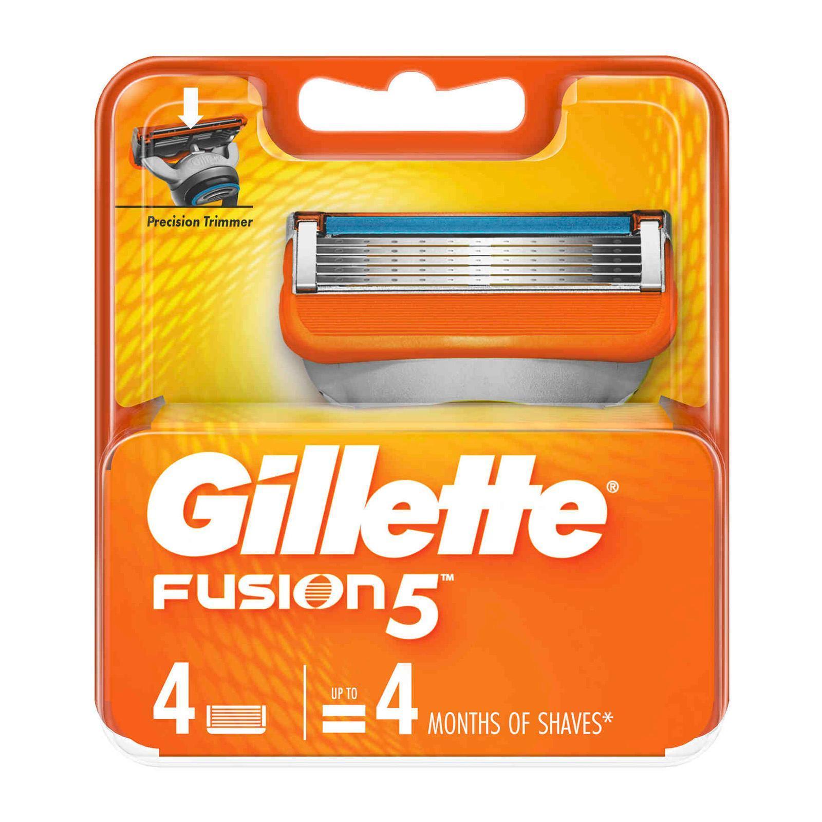 Gillette Fusion Razor Cartridges Refill