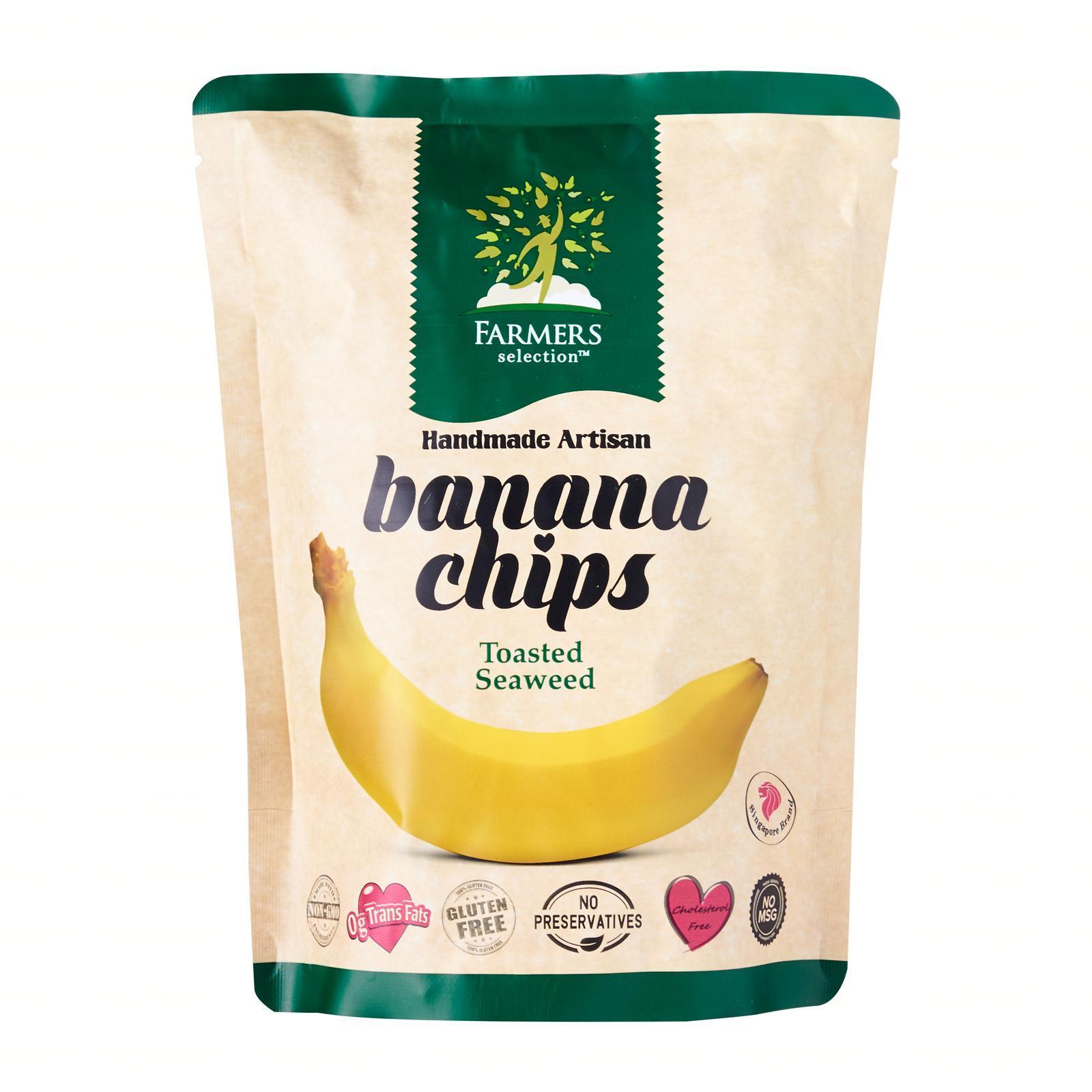 Farmers Selection Toasted Seaweed Banana Chips