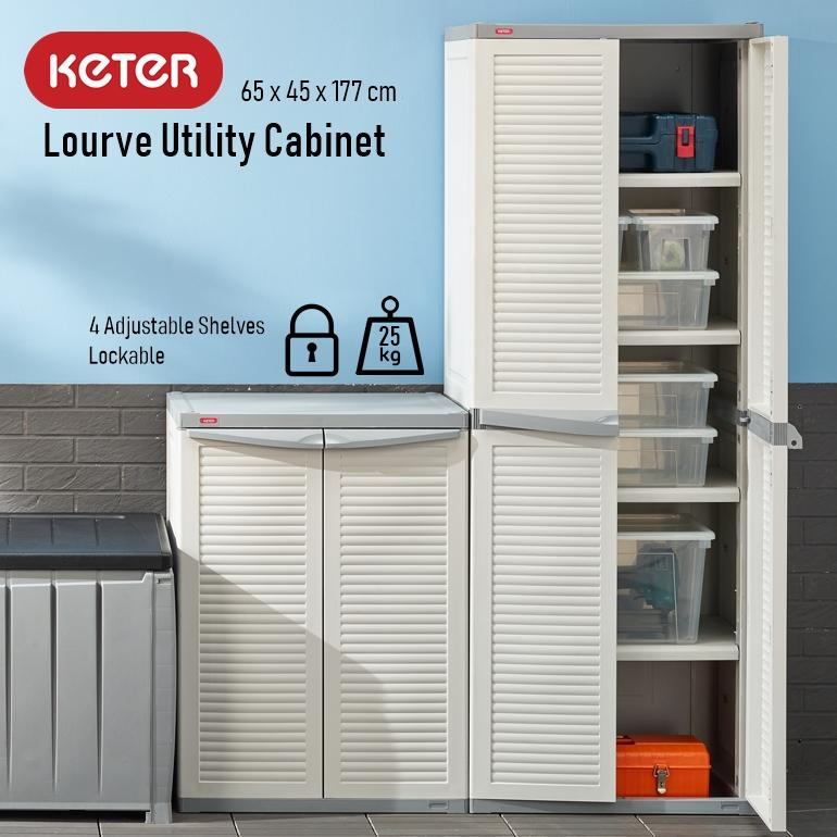 Keter Lourve Utility Indoor Cabinet By The Home Shoppe.