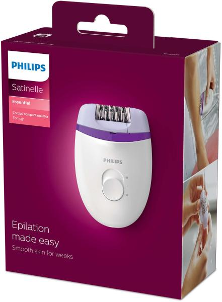 Buy Philips BRE 225/00 Satinelle Corded Gentle Compact Epilator Washable Singapore