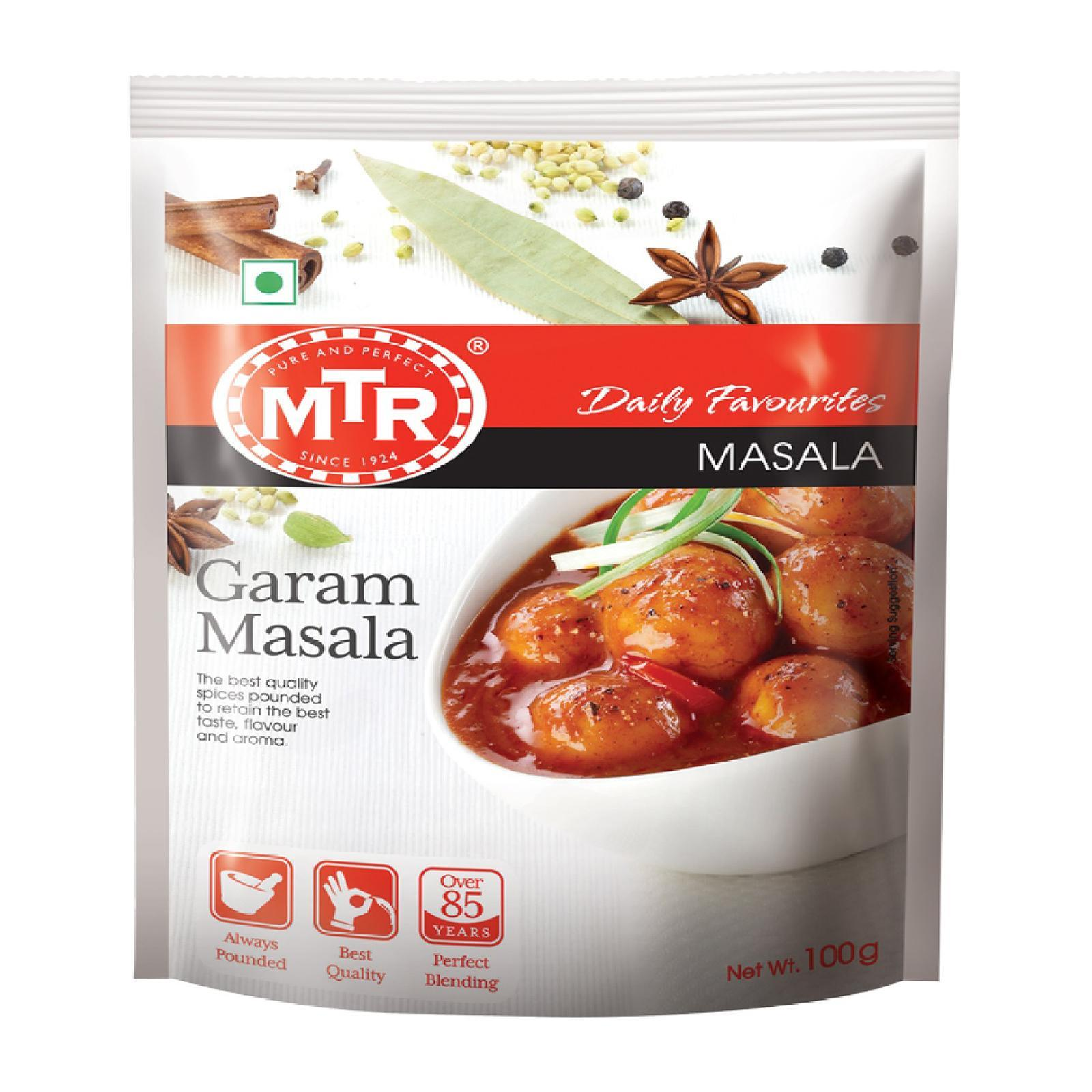 Mtr Garam Masala - 100g X 2 Pack (charges Includes Shipping Fee) By Best Buy Mini Mart.