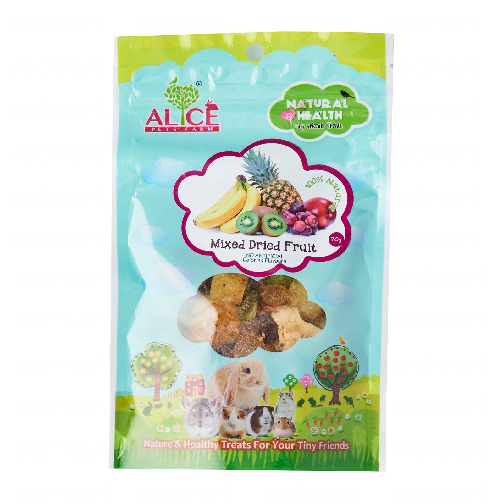 Alice Pet's Farm Small Animal Mixed Dried Fruits Treat
