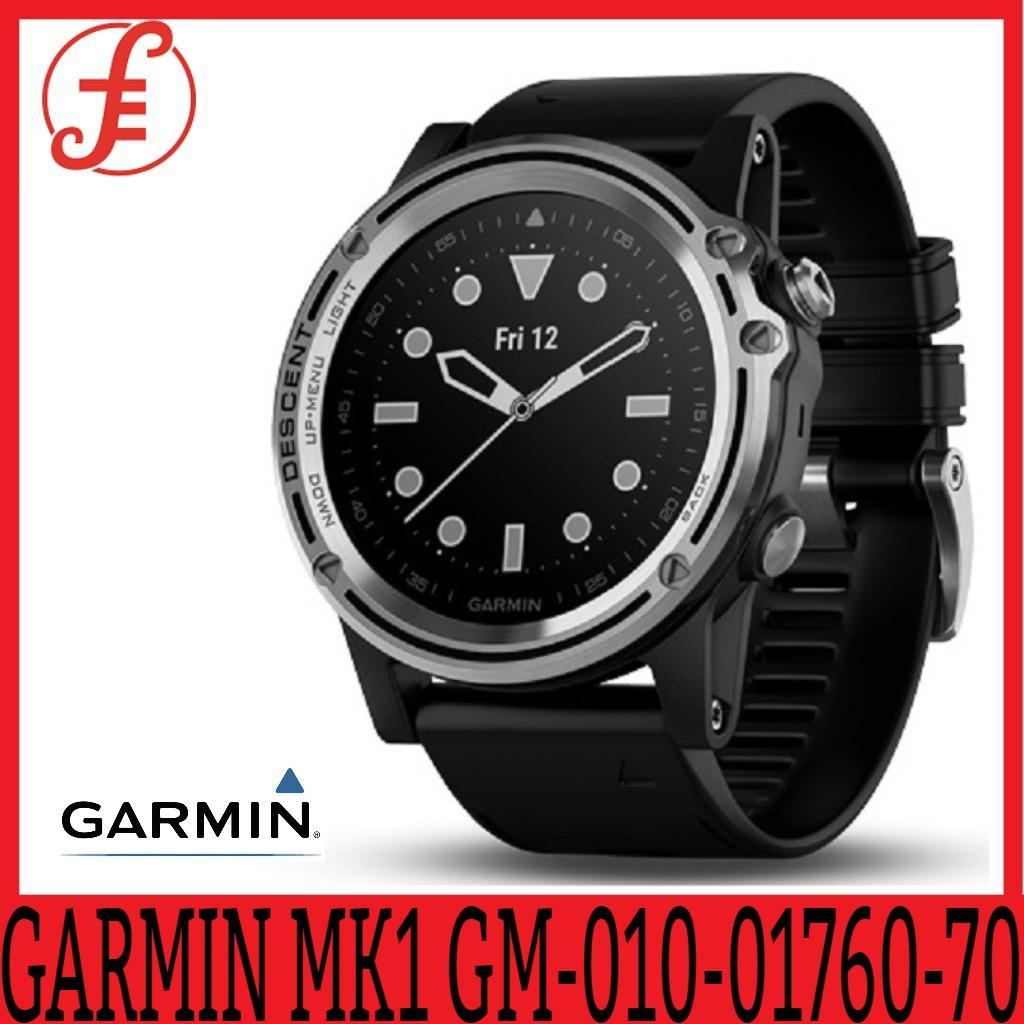 Garmin Descent Mk1 Dive Watch (silver Sapphire With Black Band) + Free Lg Bluetooth Speaker.