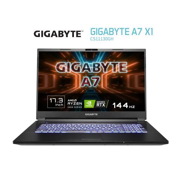 GIGABYTE A7 X1 (Ryzen9 5900HX 3.3GHz/2x8GB DDR4 3200/RTX 3070 8GB GDDR6/1TB NVMe PCIe/17.3 FHD 144Hz IPS Panel/WIN10 HOME)