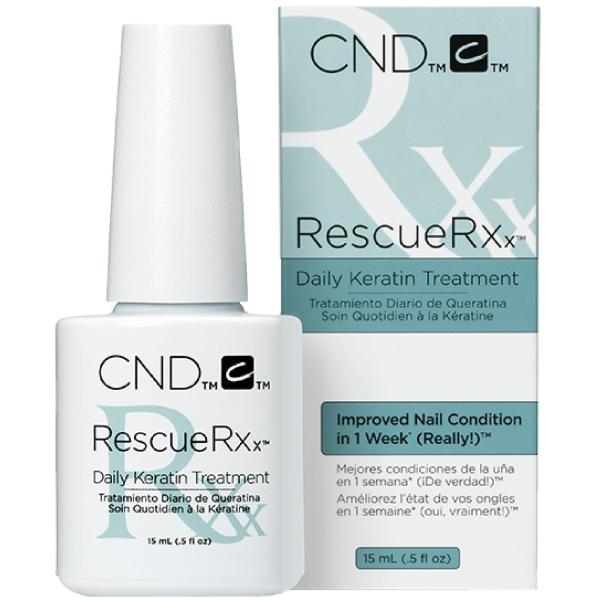 Buy CND Rescue RXx Repair Oil Nail Treatment for Gel peeling soft easily broken chip recovery solution 15ml Singapore