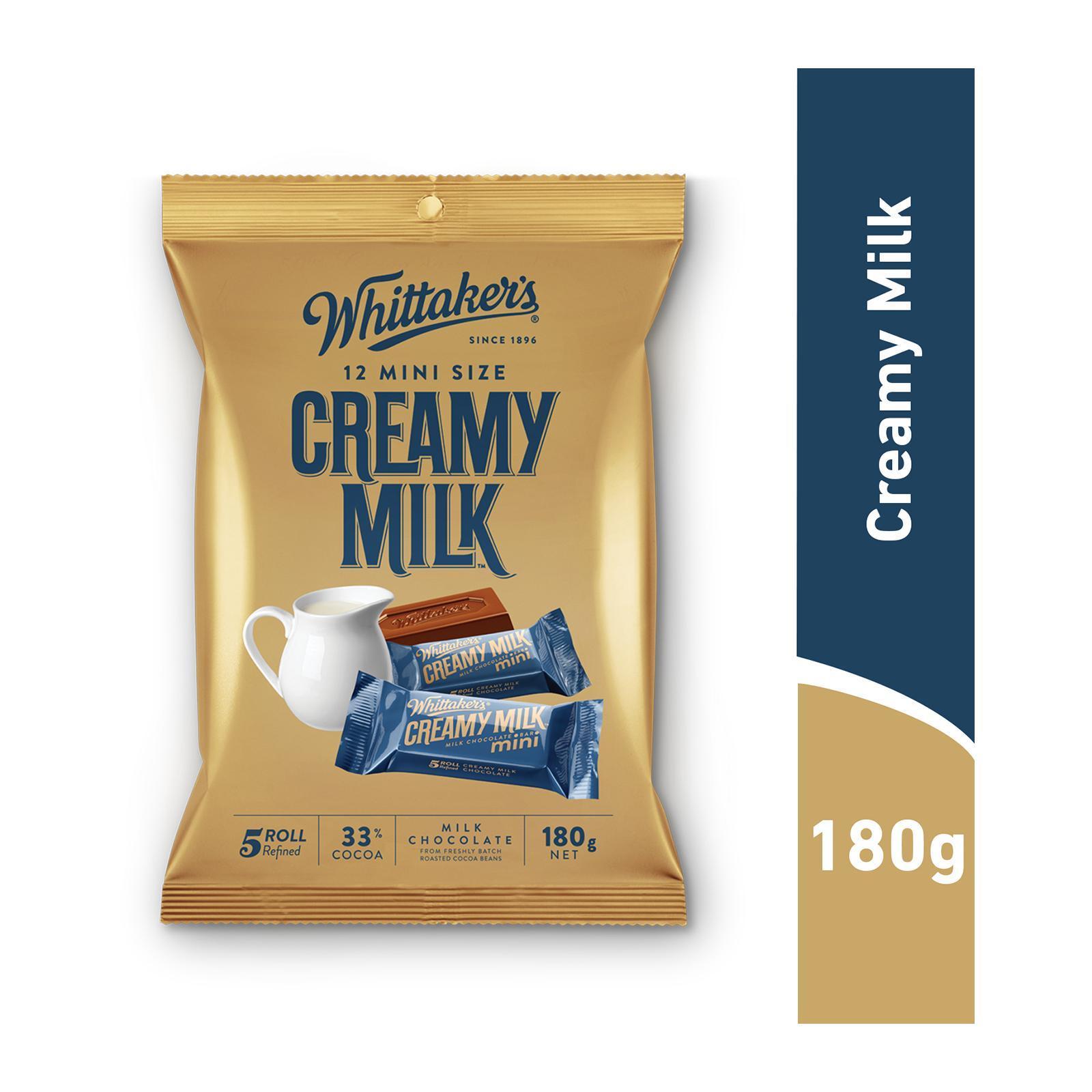 Whittaker's Creamy Milk Mini Sharepack Chocolate