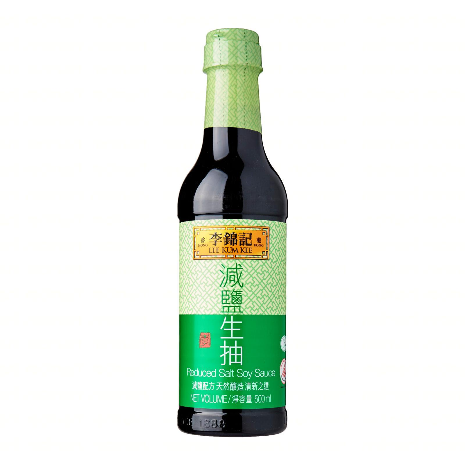 LEE KUM KEE Reduced Salt Soy Sauce 500ml