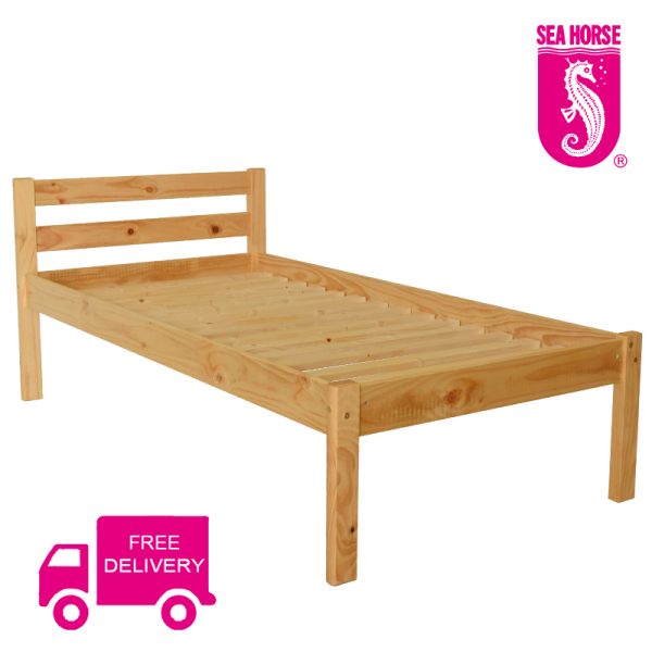 Sea Horse Finland Pinewood Bed Frame (KD01N) Free Delivery!