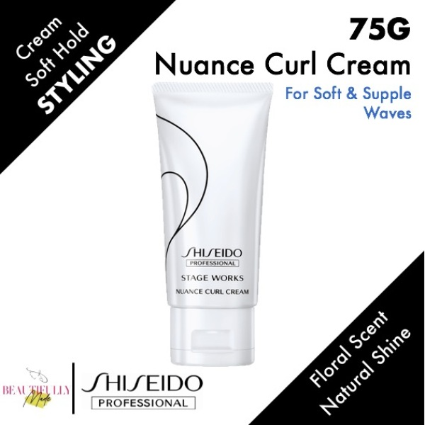 Buy Shiseido Stage Works Nuance Curl Cream 75g - For Creating Soft & Supple Waves Singapore