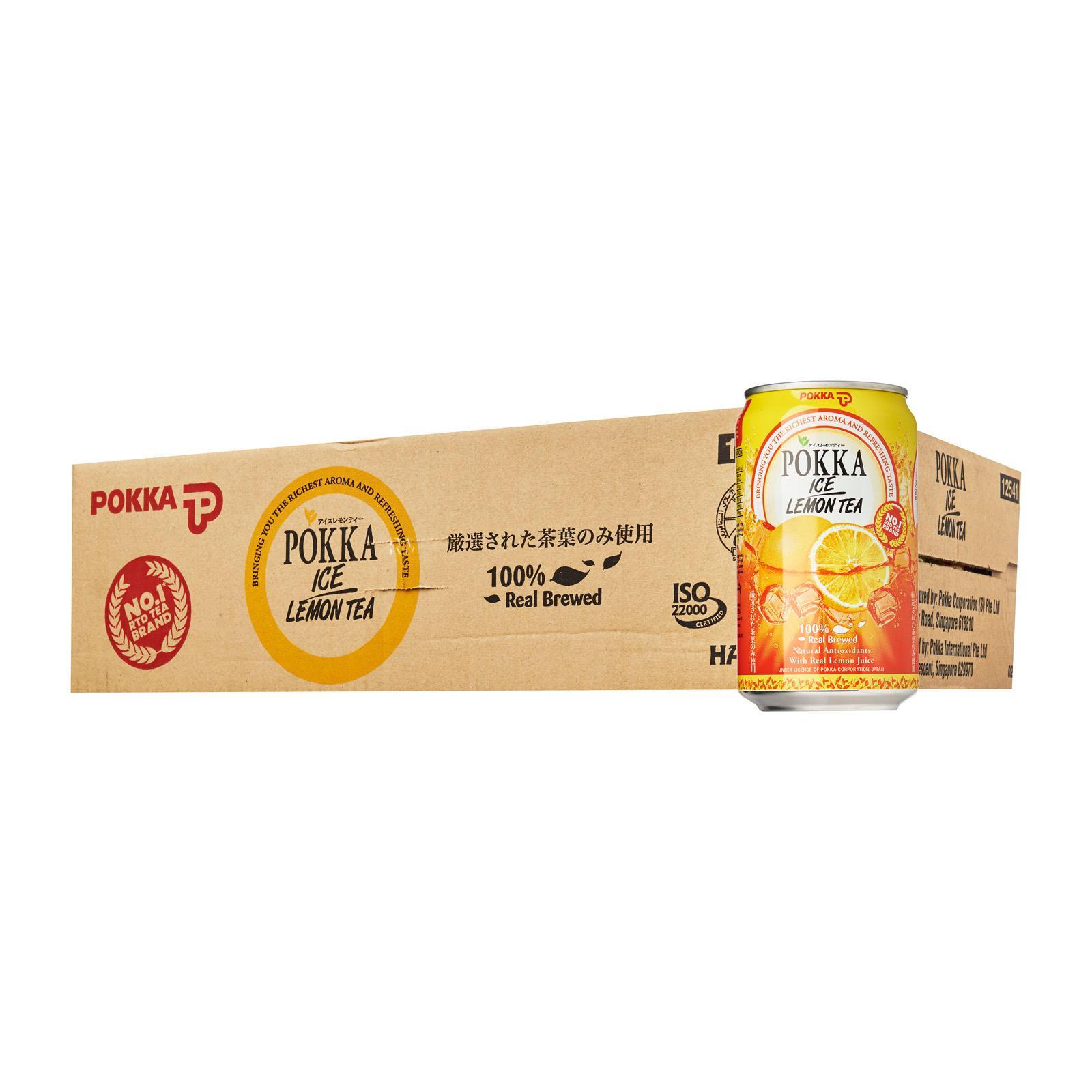 Pokka Ice Lemon Tea - Case