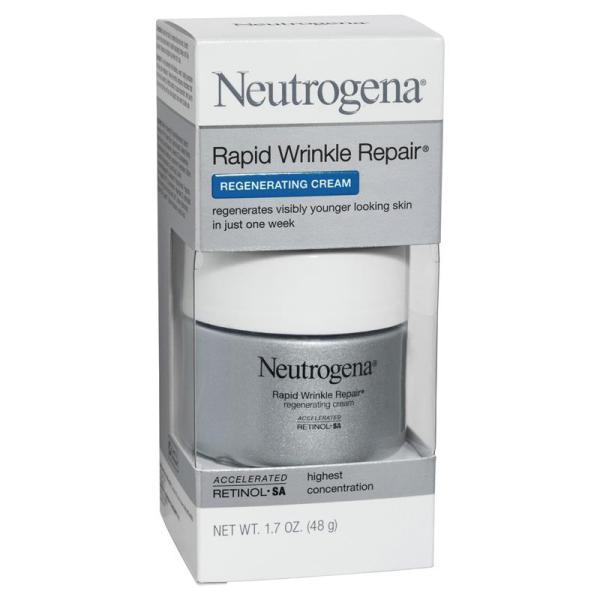 Buy Neutrogena Rapid Wrinkle Repair Regenerating Cream 48G Singapore