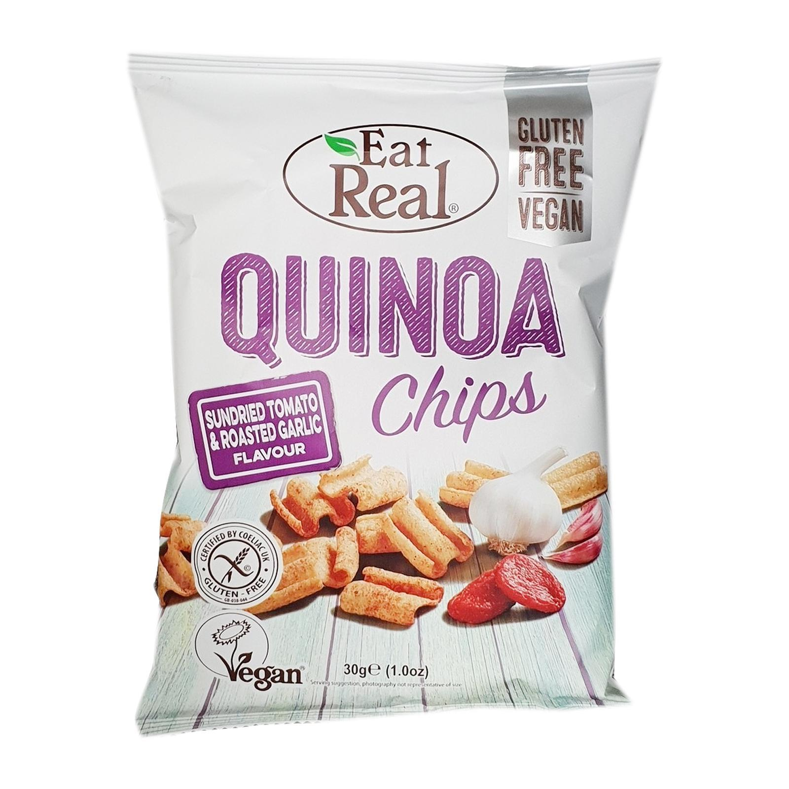 Eat Real Quinoa Chips Sundried Tomato And Roasted Garlic Flavour