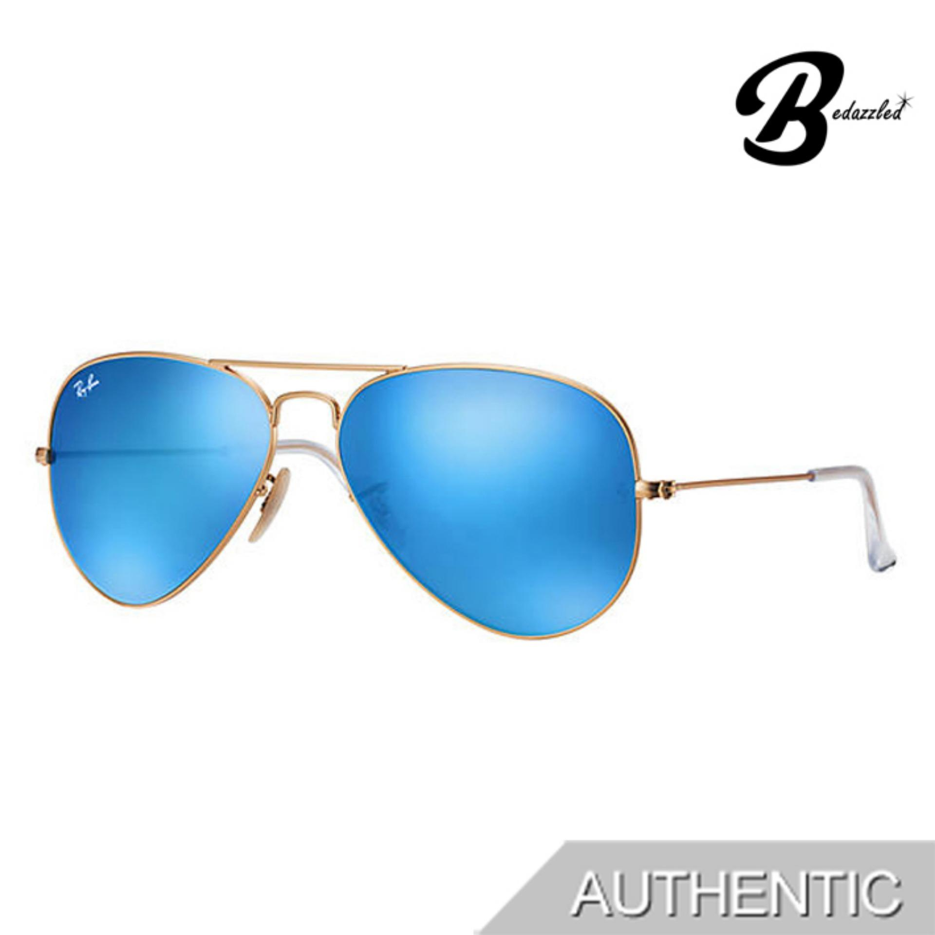Ray-Ban Aviator Flash Lenses 0rb3025112/1758 By Bedazzled.