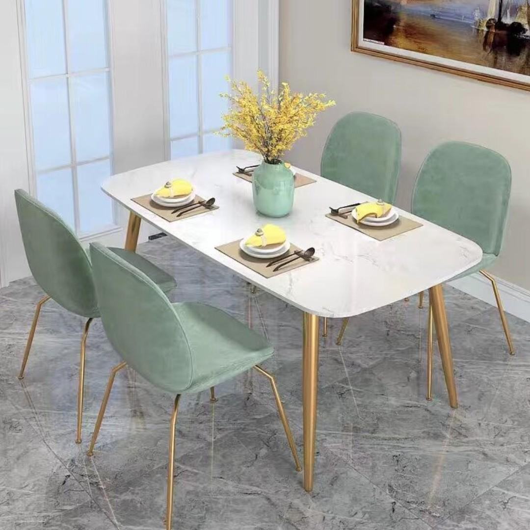 TMDT 08 Marble Dining Table(L160*W80*H75cm)