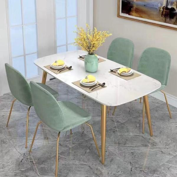 TMDT 08 Marble Dining Table(L140*W70*H75cm)