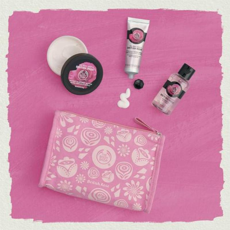 Buy The Body Shop Petal-Soft British Rose Delights Bag Singapore