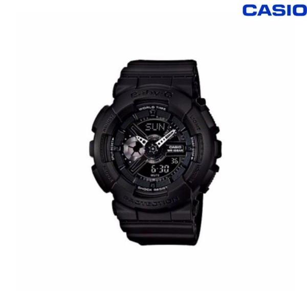 Original BABY G BA-110BC-1A Womens Watch 200M Water Resistant Shockproof and Waterproof World Time LED Auto Light Wrist Sports Watches with 2 Year Warranty Malaysia