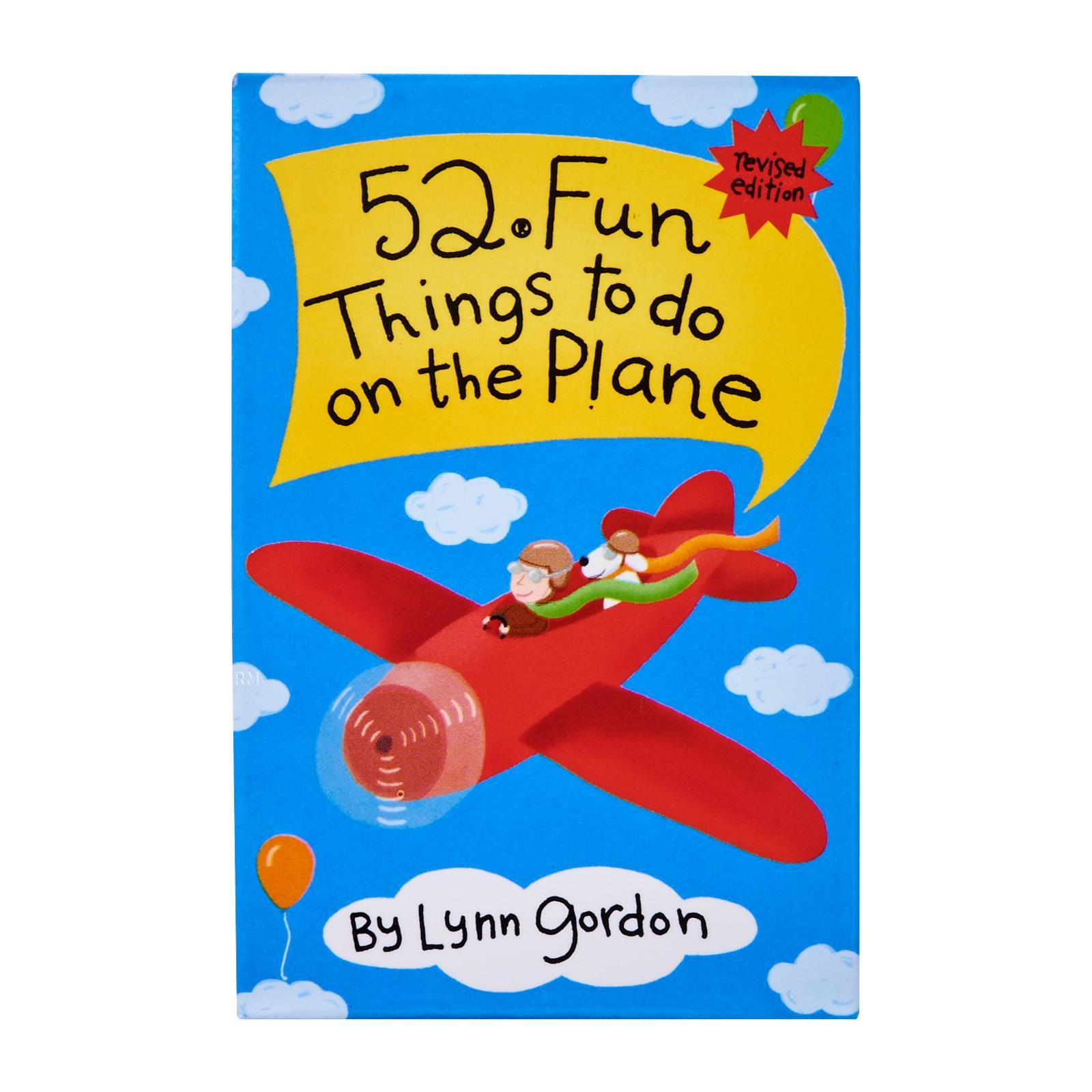 Chronicle Books 52 Fun Things To Do On The Plane