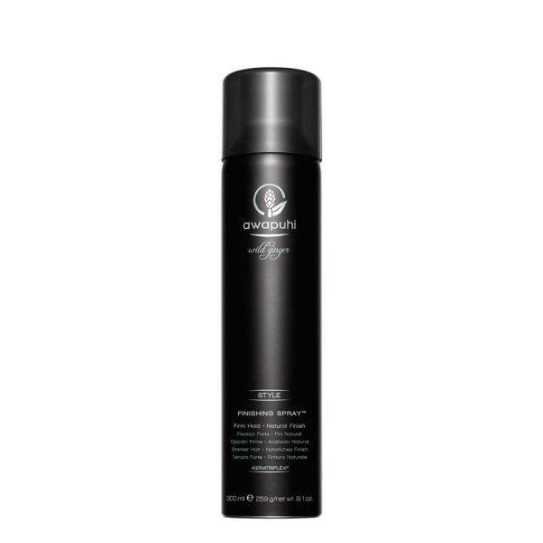 Buy Paul Mitchell Awapuhi Wild Ginger® Finishing Spray™ 300ml / 259g- Fast Drying Hairspray with Humidity Resistance & Shine • Firm hold Touchable, Natural Finish Singapore