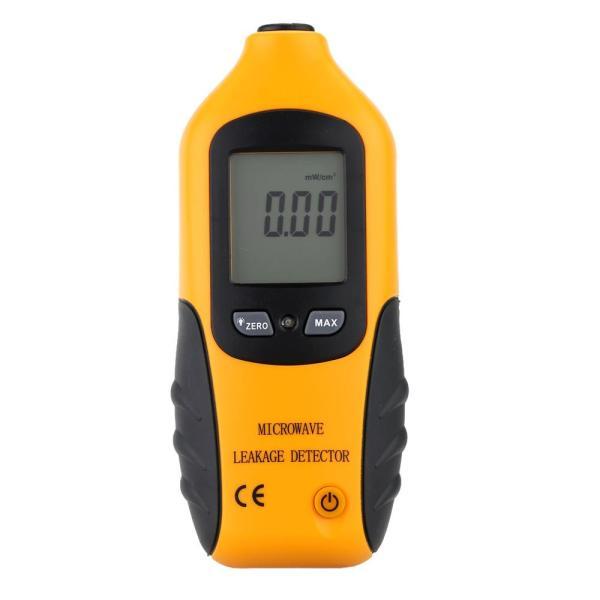 Máy phát hiện bức xạ rò rỉ vi sóng LCD kỹ thuật số máy đo rò rỉ 0-9.99mW/cm2