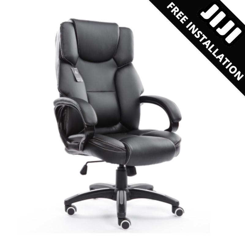 JIJI Dreamwave 8-Points Massage Office Chair (Free Installation) - Compact Massage Chairs ★Latest Technology ★Blood Circulation / Free 12 Months Warranty (SG) Singapore