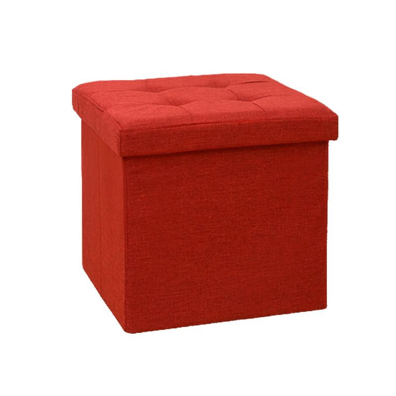 Jianmo New Products Storage Chair Can Sit People Footstool Folding Household Entrance Storage Box Toy Storage Appliances