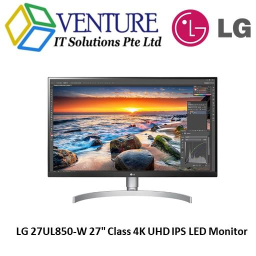 LG 27UL850-W 27 Class 4K UHD IPS LED Monitor with VESA DisplayHDR 400 (27 Diagonal)