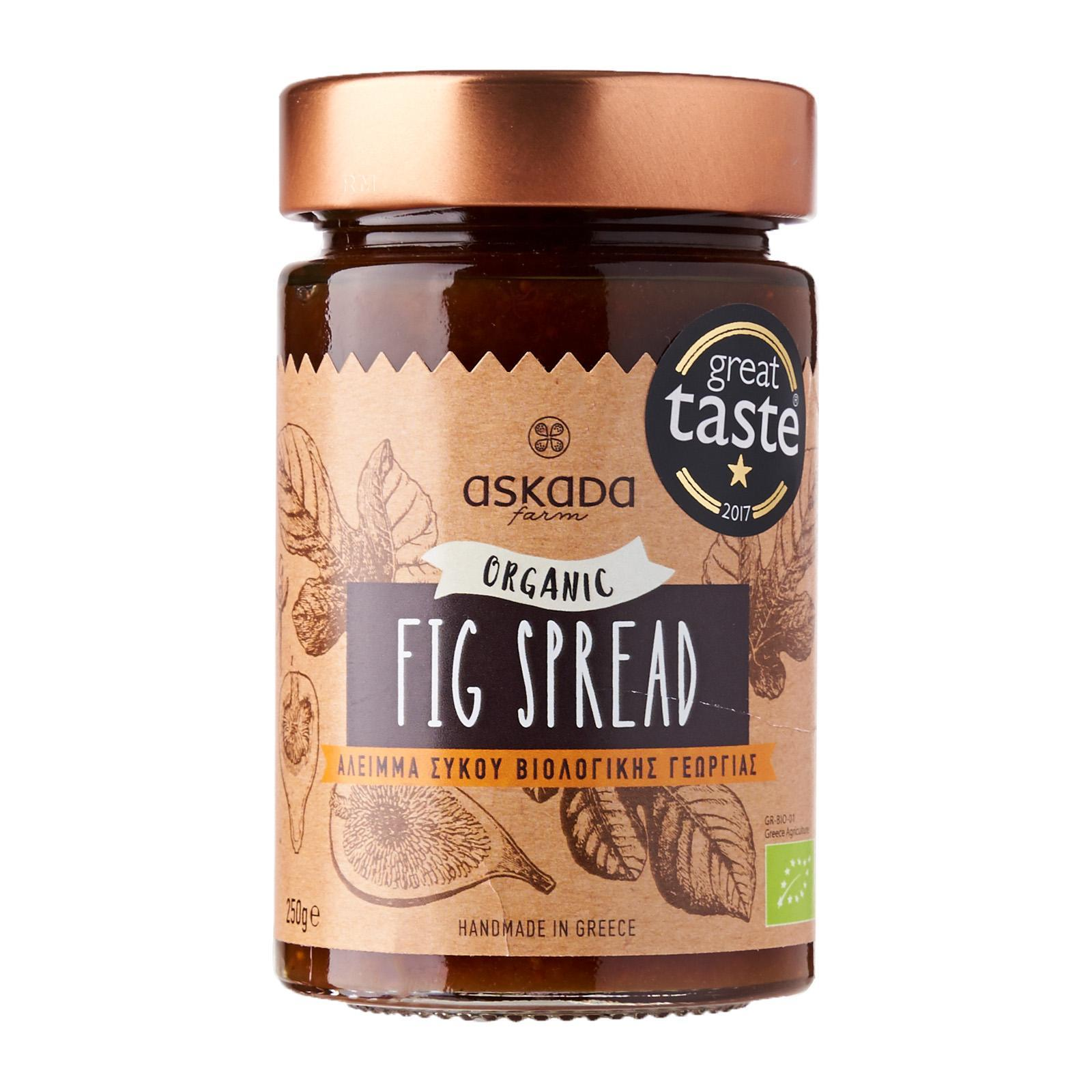 Askada Farm Organic Fig Spread - By Agora Products