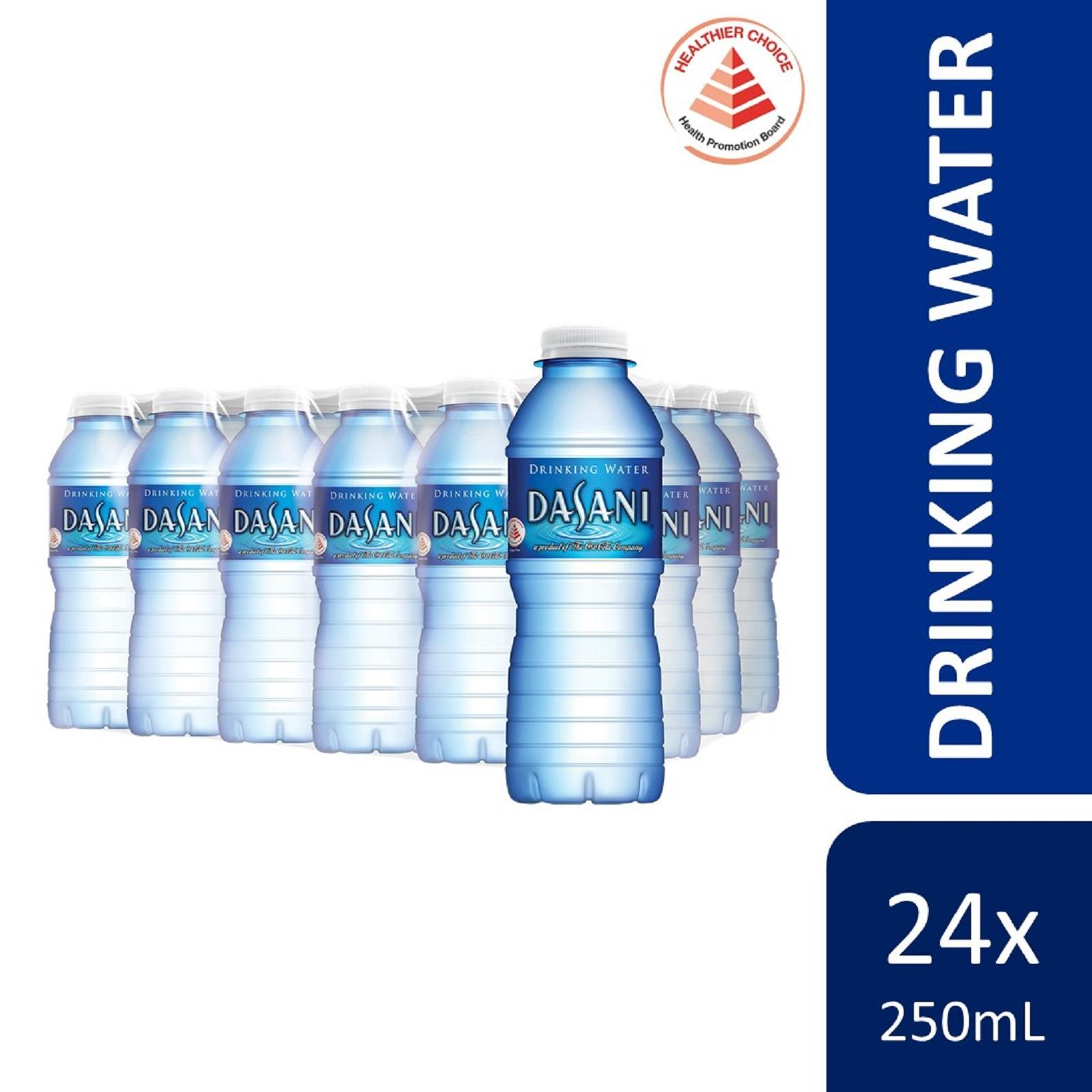 Dasani Drinking Water (24 x 250ml) - Case