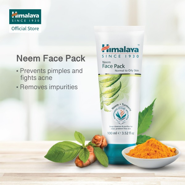 Buy HIMALAYA NEEM FACE PACK 100ML (Bundle of 2) Singapore