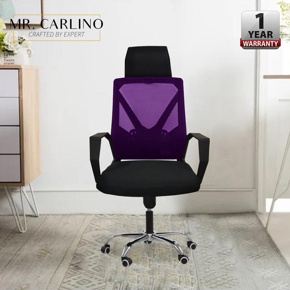 LEONARD Black Saddle Office Chair