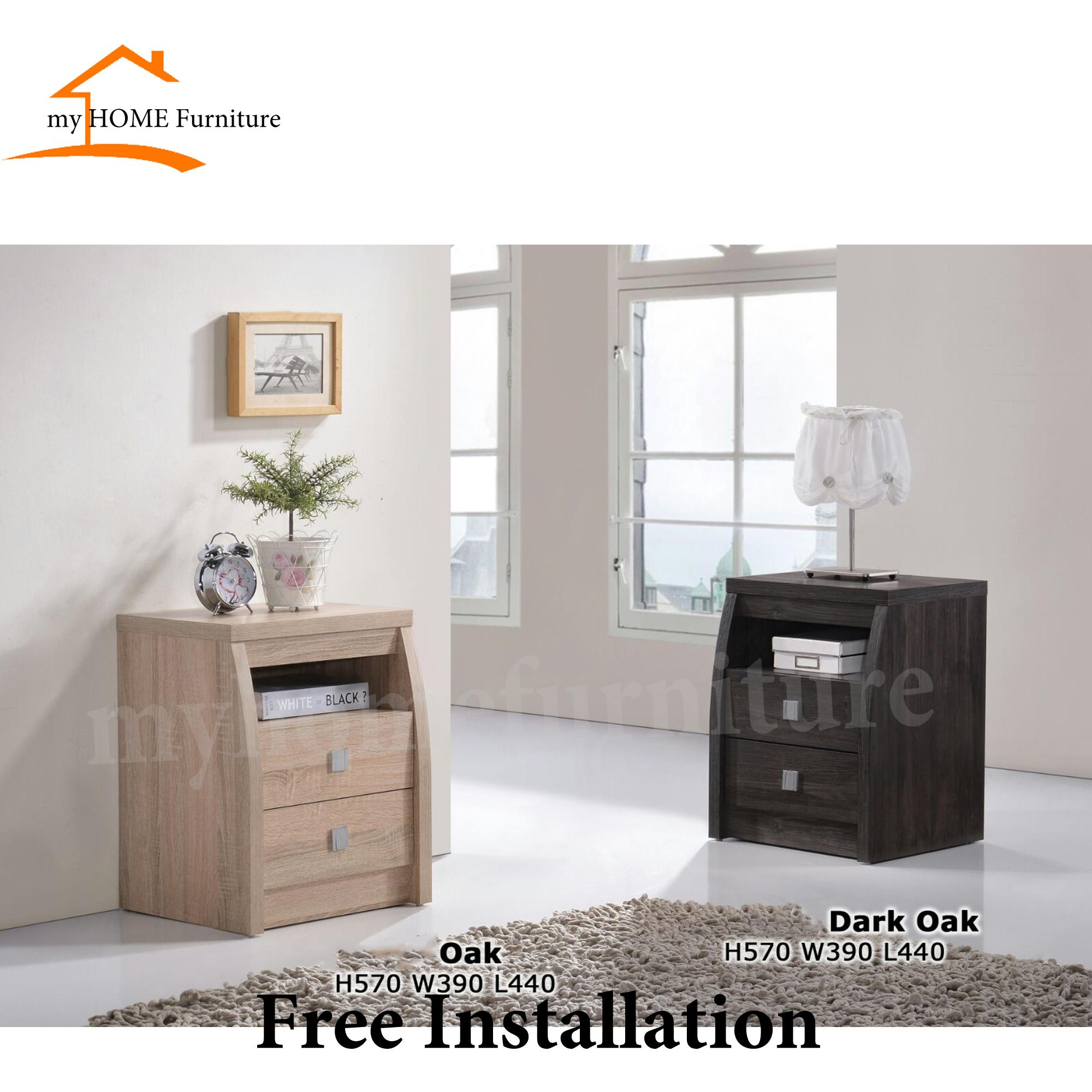 Bella Bedside Table (Free Delivery and Installation)