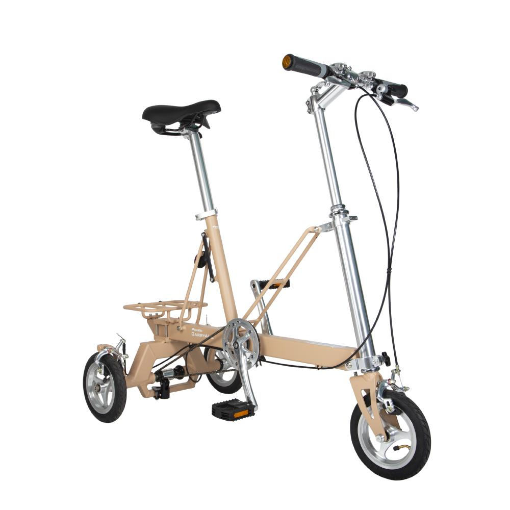 Carryall Folding Tricycle By Mighty Velo.
