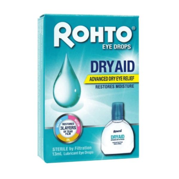 Buy Rohto Eye Drops Dry Aid 13ml Singapore