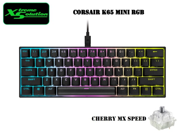 Corsair K65 RGB MINI 60% Mechanical Gaming Keyboard Singapore